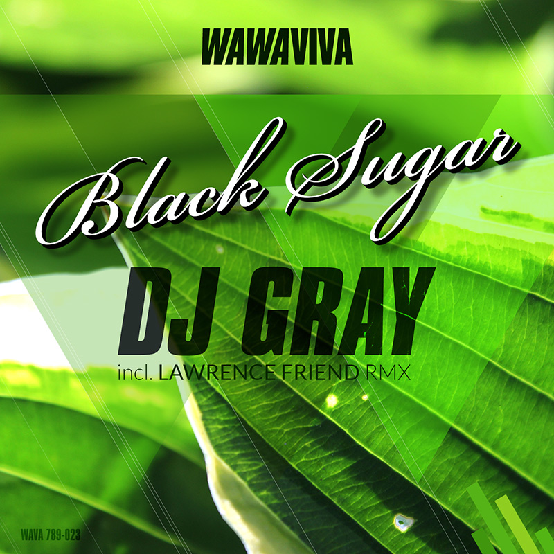 DJ Gray - Black Sugar EP (WAVA789-023) - Wawaviva Records