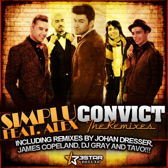 Simplu feat. Alex Velea- Convict (DJ Gray Remix) (3SD032) - 3Star Deluxe