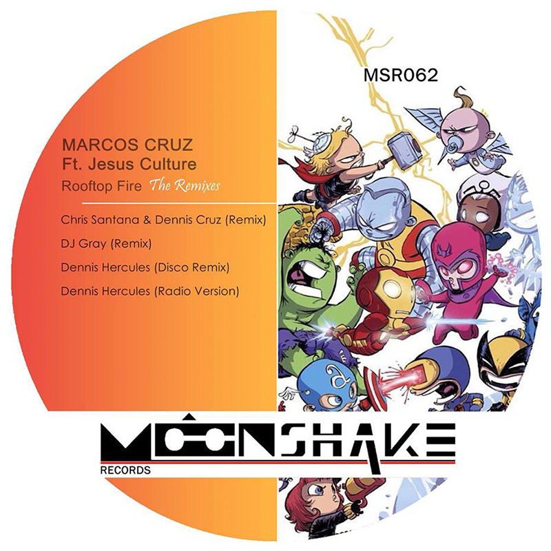 Marcos Cruz ft. Jesus Culture - Rooftops (DJ Gray Remix) (MSR062) - Moonshake Records