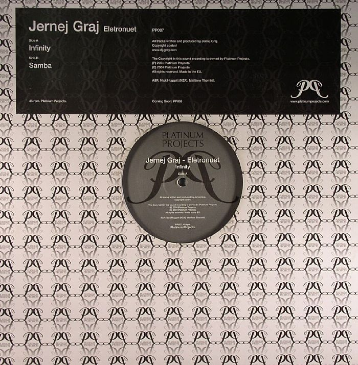 Jernej Graj - Eletronuet (PP007) - Invasion Records