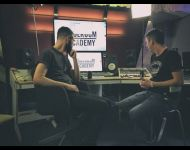 My demo listening with Matt Smallwood & Chris Corsello @ Toolroom Academy